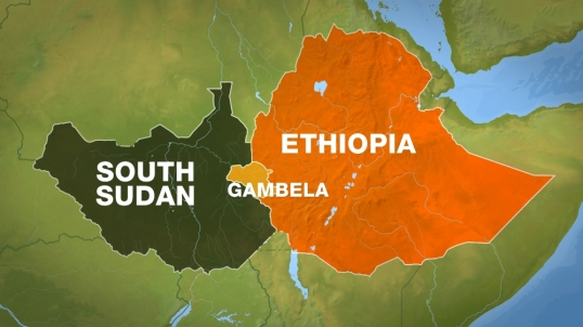 South Sudan Ethiopia