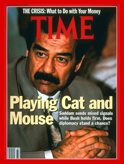 Time Saddam