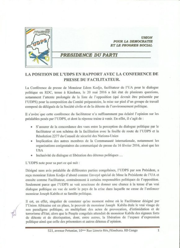 UDPS PR 2016 P1
