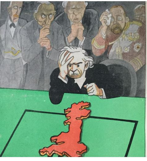 1916 UK Cartoon