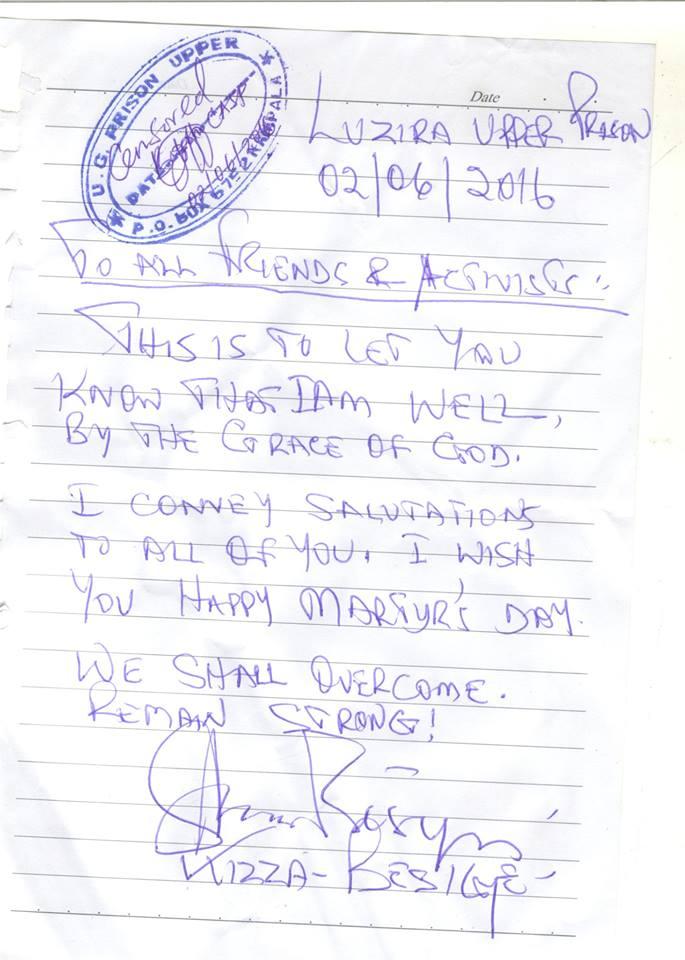 Besigye 02.06.2016