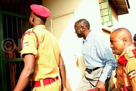 Besigye Detained