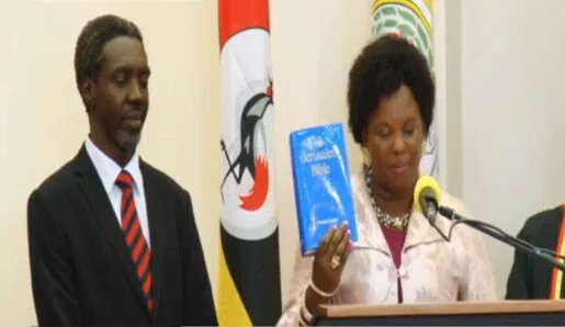 Betty Amongi Jimmy Akena Statehouse 21.06.2016