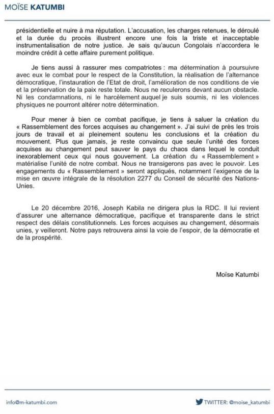 Declaration Moise 30.06.2016 P2