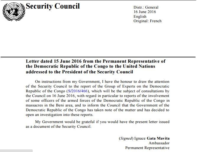 DRC Security Council Letter 16.06.2016