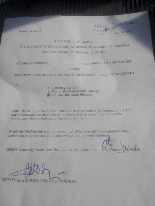 FDC Petiton 10th June AG
