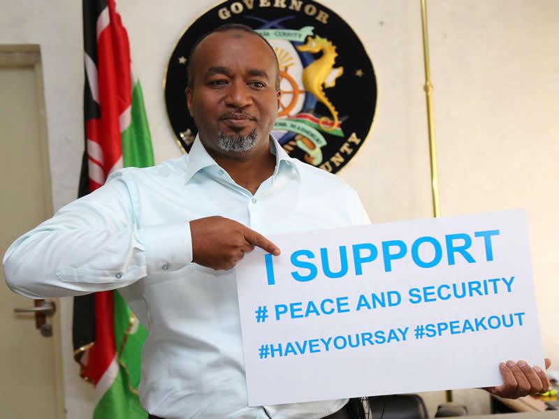 Hassan Ali Joho Peace