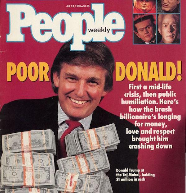 Donald Trump 1990s People's Cover