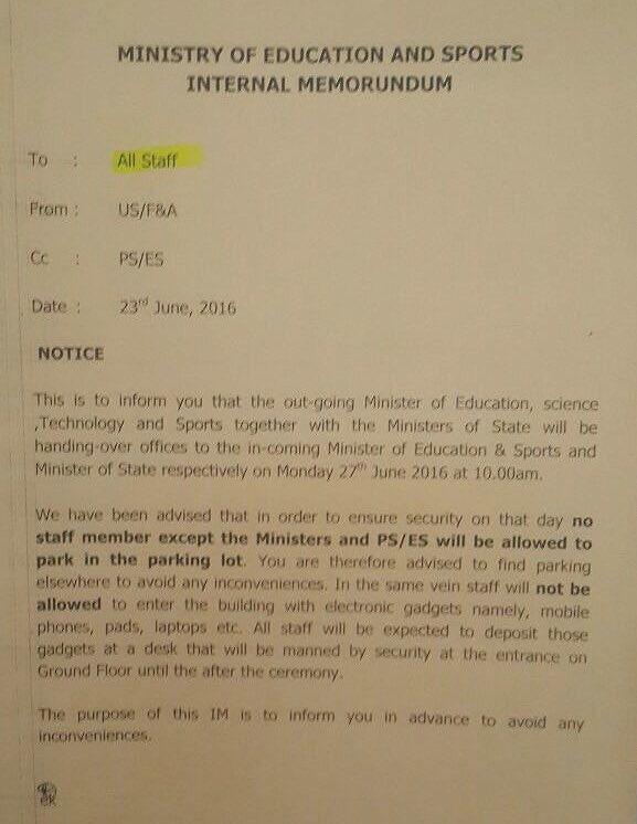 Janet Museveni 23.06.2016