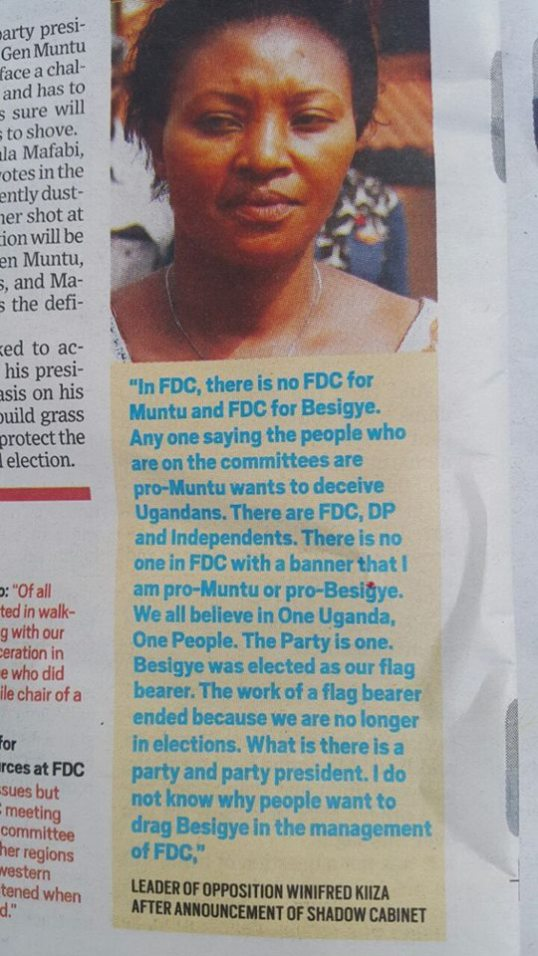 Kiiza Article Daily Monitor