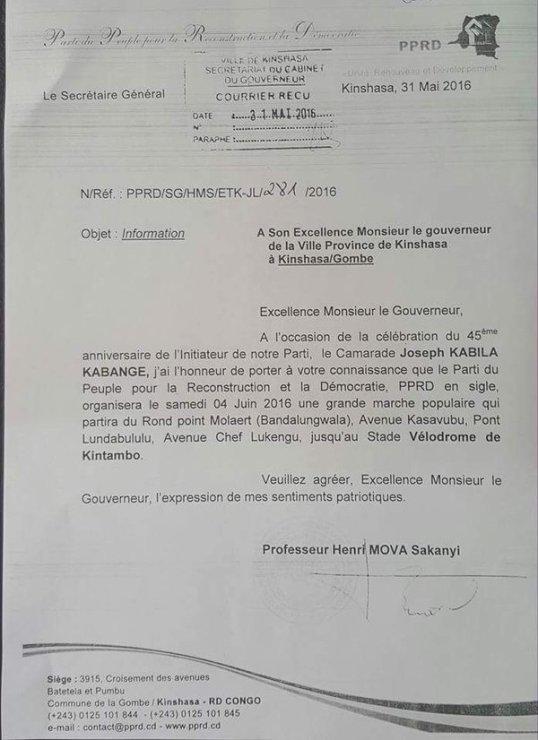 Kinshasa 31.05.2016