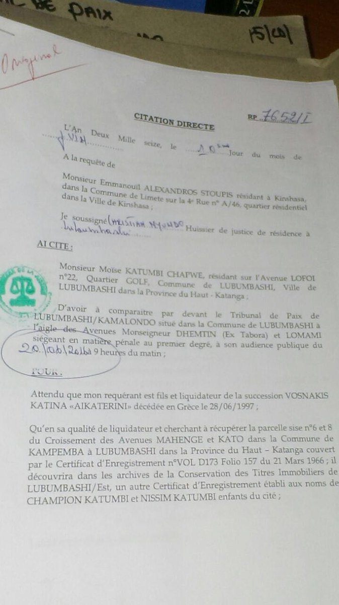 Moise Petition 2016 P1