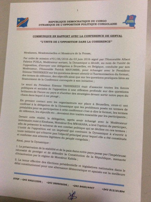 RDC Oppositon 25.06.2016 P1