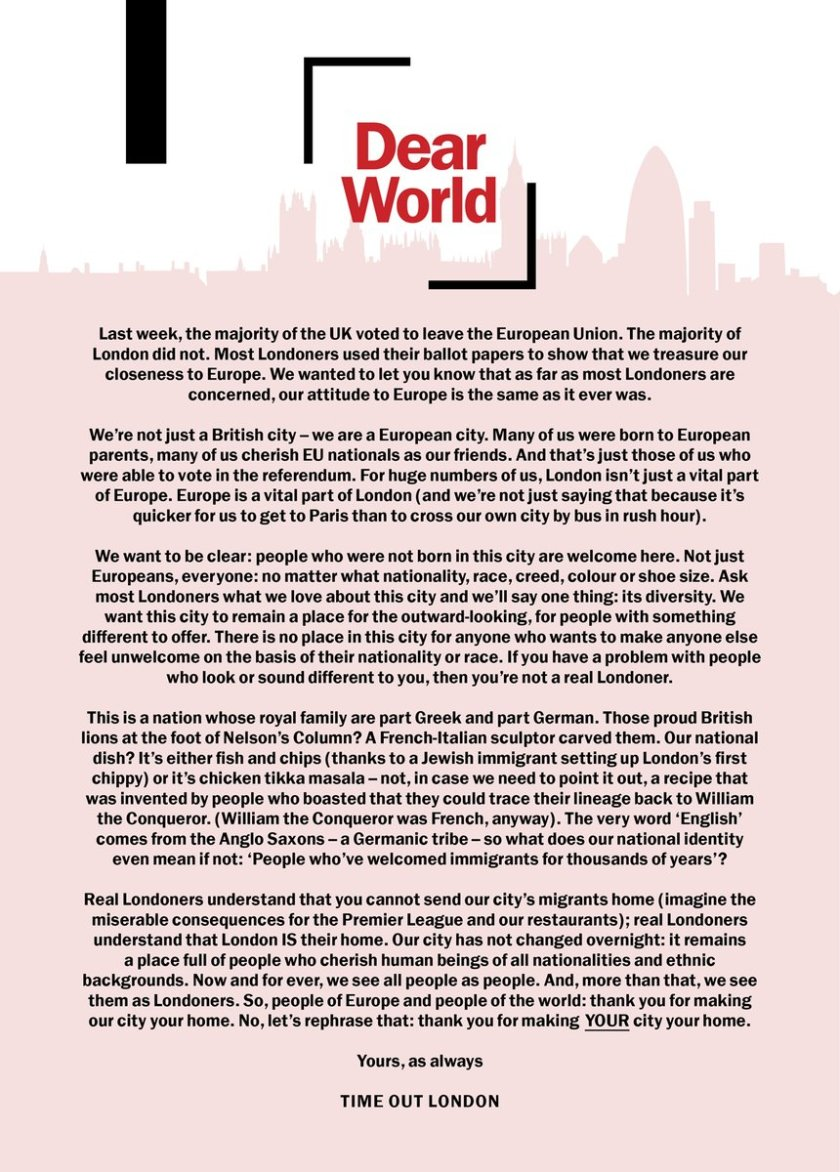 Time Out London 28.06.2016