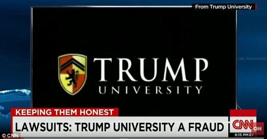 Trump Uni CNN