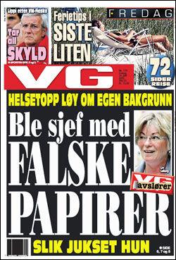 VG Forside