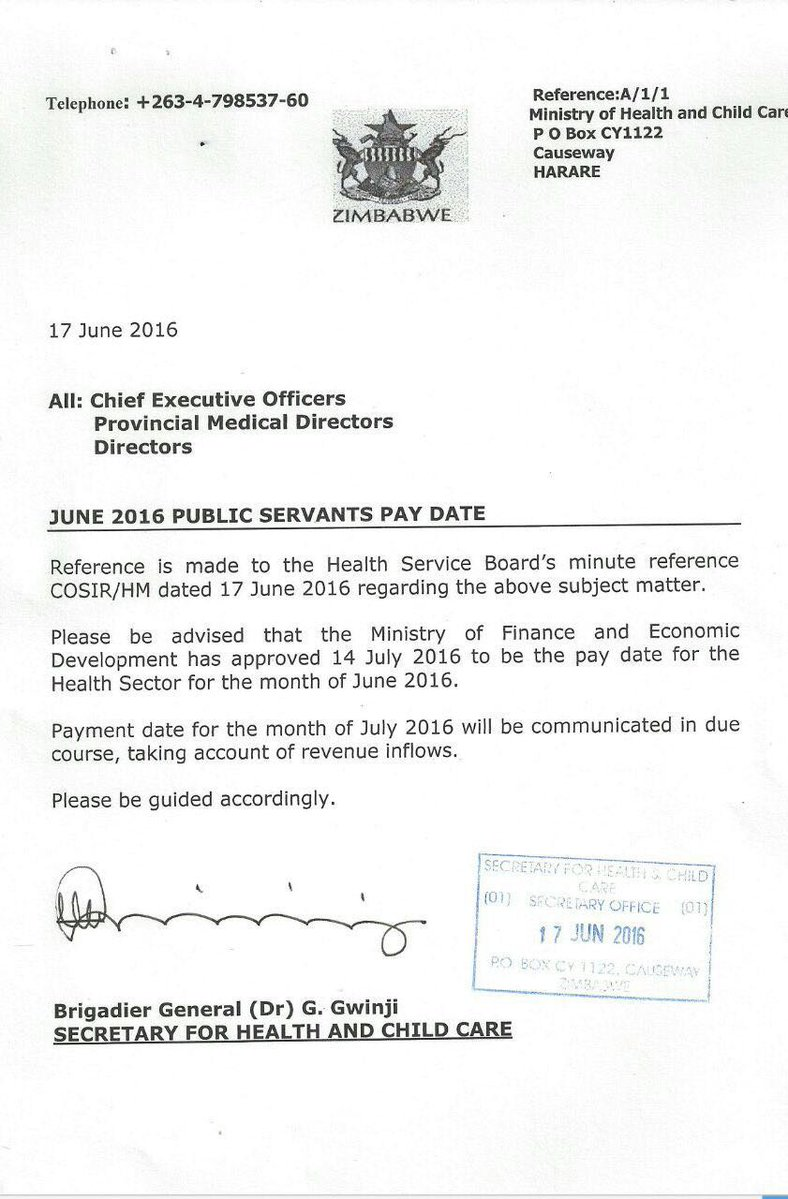 Zim Pay June 2016