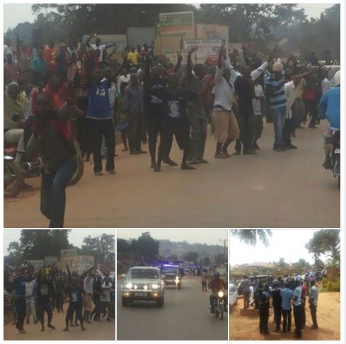 Besigye Heroes welcome