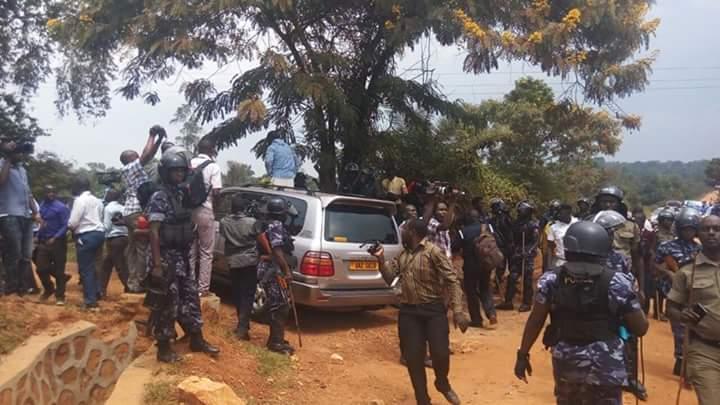 Besigye Kasangati 12.07.2016