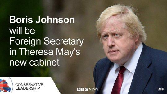 Boris Johnson Foreign Affairs