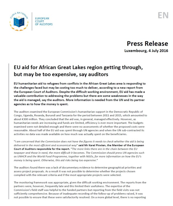 EU Audits 04.07.2016 P1