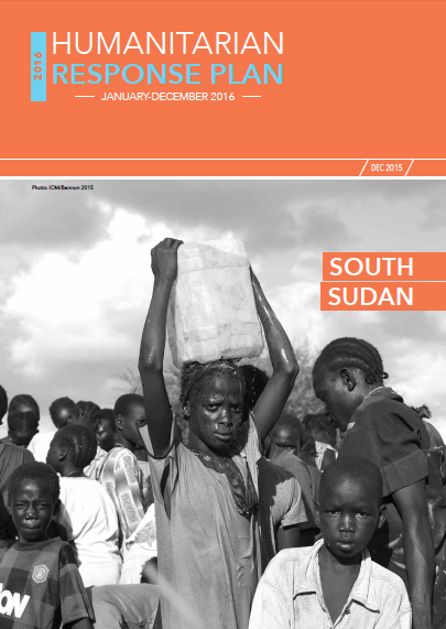 South Sudan HRP 2016 Cover Page