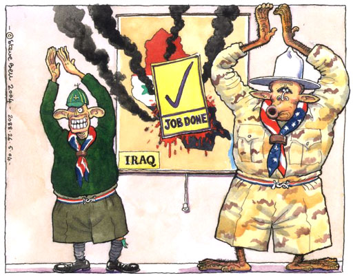 Iraq Cartoon
