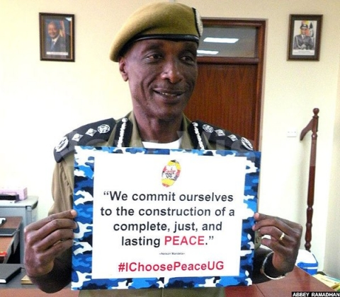 Kale Kayihura Choose Peace