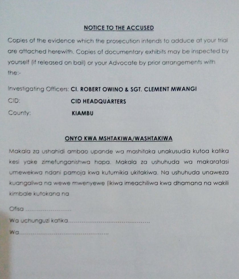 Kenya Criminal Case 18.07.2016 P3
