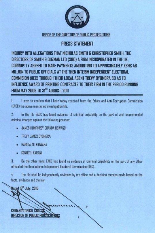 Kenya EEAC IEBC