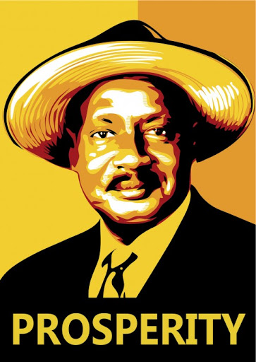 Museveni Cool Poster