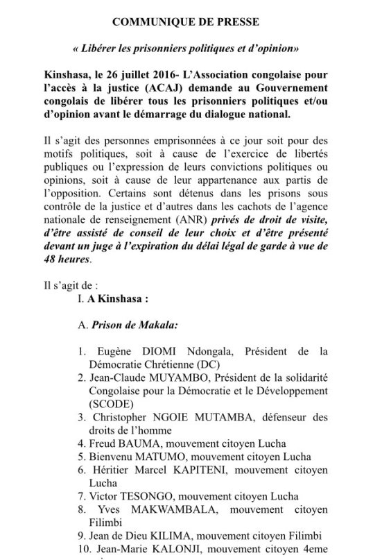 RDC Prisoner 26.07.2016 P1