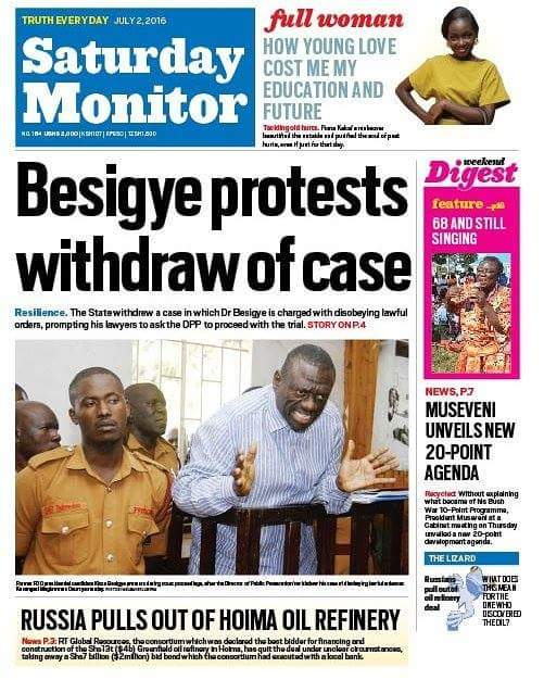Saturday Monitor 02.07.2016