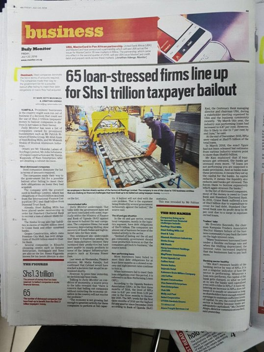 Scambailouts Uganda