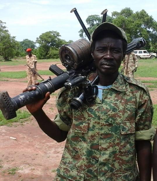 South Sudan 21.07.2016 SPLMIO Deflector