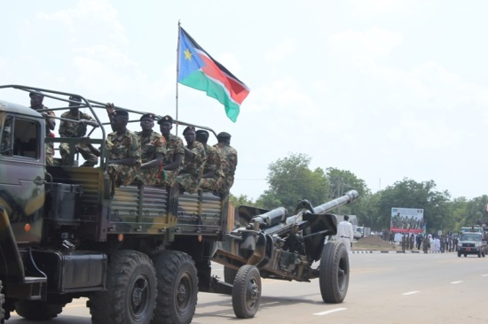 SPLA during a previous function in Juba