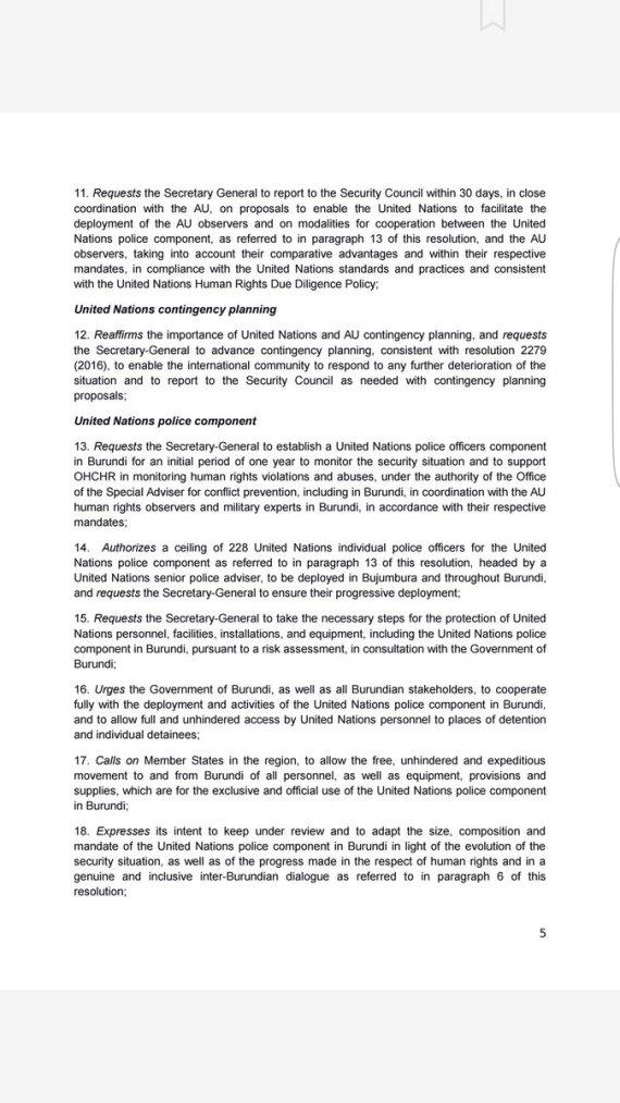 UNSC Burundi Draft P5