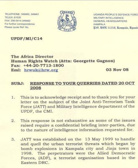 UPF 2008 Torture