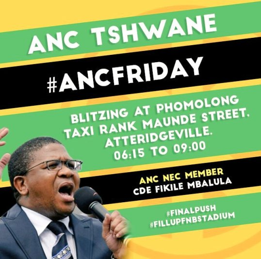 ANC Friday