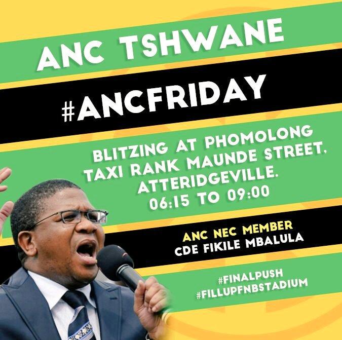 ANC Friday