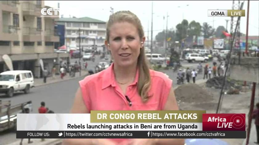 DRC Rebel Attack