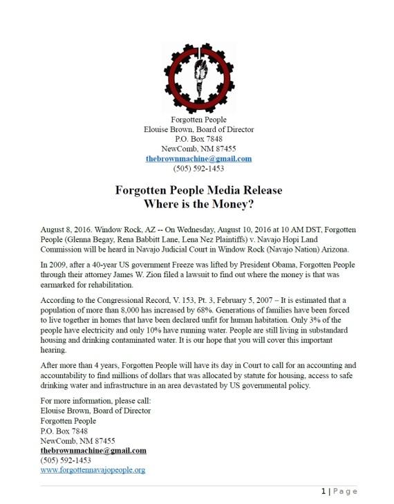 Forgotten People 0808.2016 P1