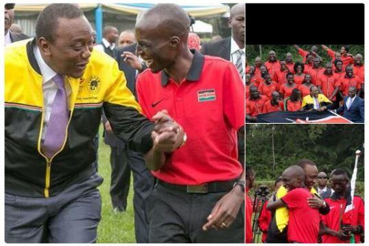 Kenyatta Rio Team 2016
