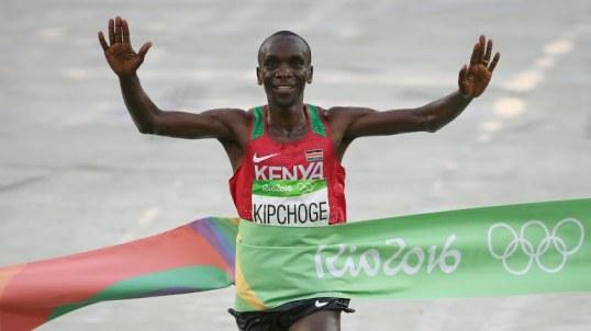 Kipchonge Rio Olympics Finish Line