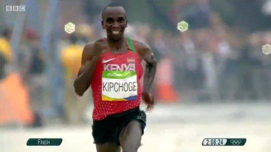 Kipchonge Rio Olympics