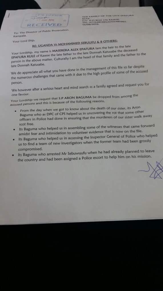 Letter DPP Baguma Aug 2016 P1