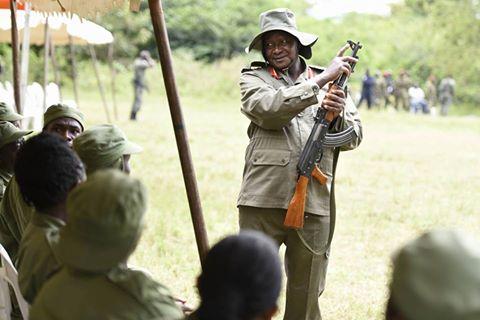 Museveni Kyankwanzi 01.08.2016