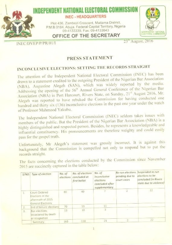 Nigeria IEBC Press Release 23.08.2016 P1