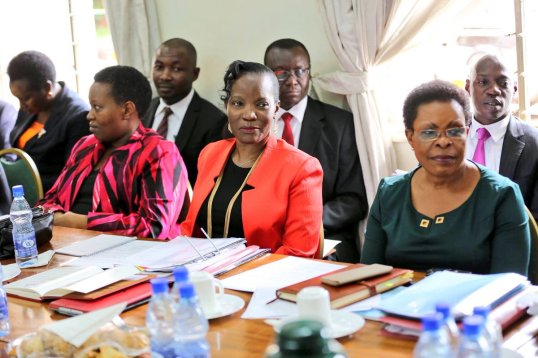 Parliament Meeting KCCA Aug 2016
