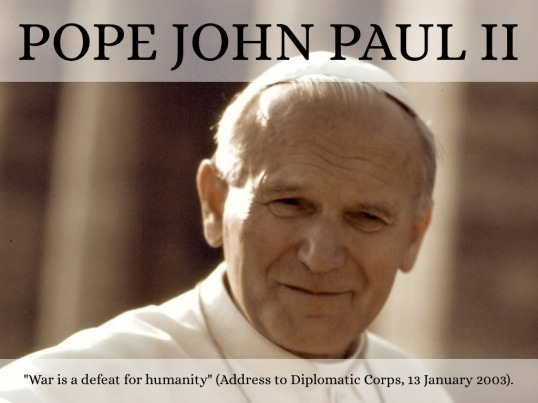 Pope Jean Paul II Quote